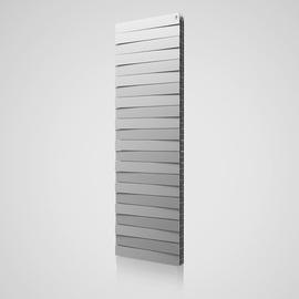 Радиатор PianoForte Tower Silver Satin / Noir Sable / Bianco Traffico - 22 секц.