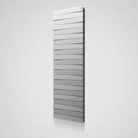 Радиатор PianoForte Tower Silver Satin / Noir Sable / Bianco Traffico - 18 секц.